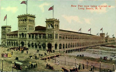 Proposed Long Beach Pier, c1908