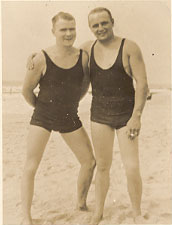 Bob Lynch and Stanley Foster 1927